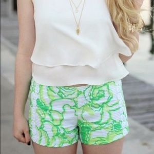 Lilly Pulitzer HEARTBREAKER LIZA SHORTS